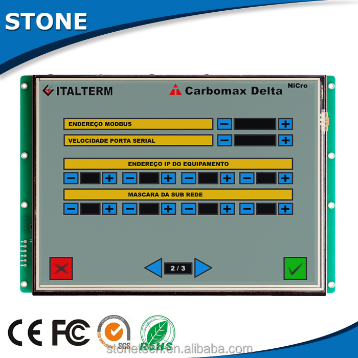 Open frame <strong>lcd</strong> with pcb board .tft driver and touch screen for home automation system