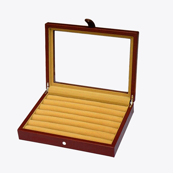 Wholesale Leather Cufflink Display Box