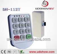 Multi-levels password management Keypad keyless locker locks