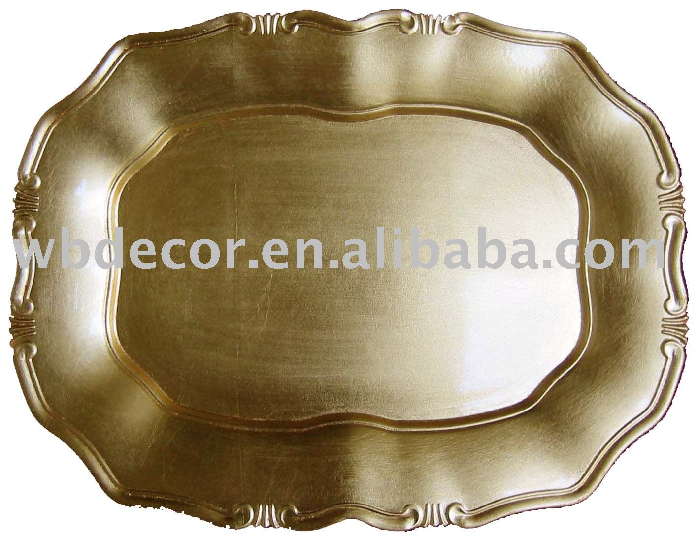 Plastic lacquer tray in high quality