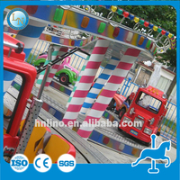 Attractions! Outdoor amusement mini coaster equipment kids games electric train set children ride Mini Shuttle