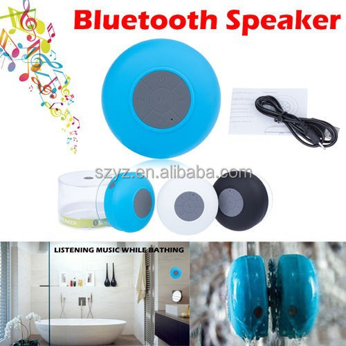 2015 New Arrival High Quality Hot Sale FM Radio Portable Bluetooth Speaker with USB Port