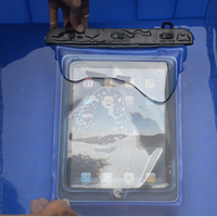 Hot sale IPX8 10 meter pvc waterproof tablet pouch case dry bag for ipad 3/4