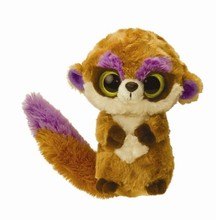 "wholesale lovely customized Stuffed Animal 6"" Adorable Plush Meerkat Soft Toys with big eyes"