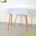 wooden dressing table with solid wood stand