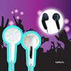 Promotional good quality light CE fashion in-ear stereo earphone