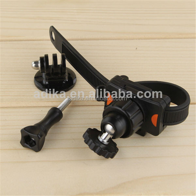 Accessories XIAOMI camera bike mount for, motorcycles, YI camera bicycle mount, with the tripod adapter+long screw