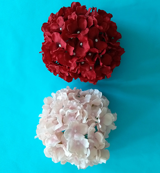Artificial flower of Hydrangea flower for wedding decoration