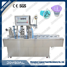 China factory price jelly filling sealing machine/plastic cup filling and sealing equipment