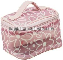 Clear Mesh Cosmetic Bags Makeup Artist Beauty Case Bag Removable