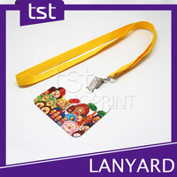 Funny Design Woven Lanyards Free Sample