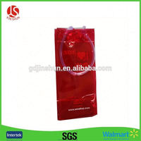 Guangzhou factory OEM pvc transparent wine chill bag