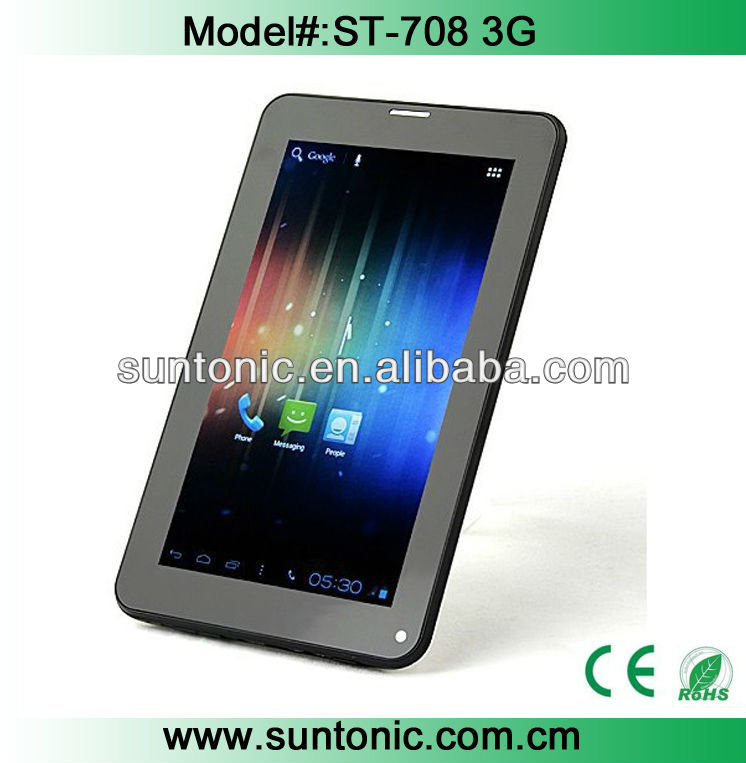 7 inch 3g tablet pc with voice call A13 with reasonable price and full functions