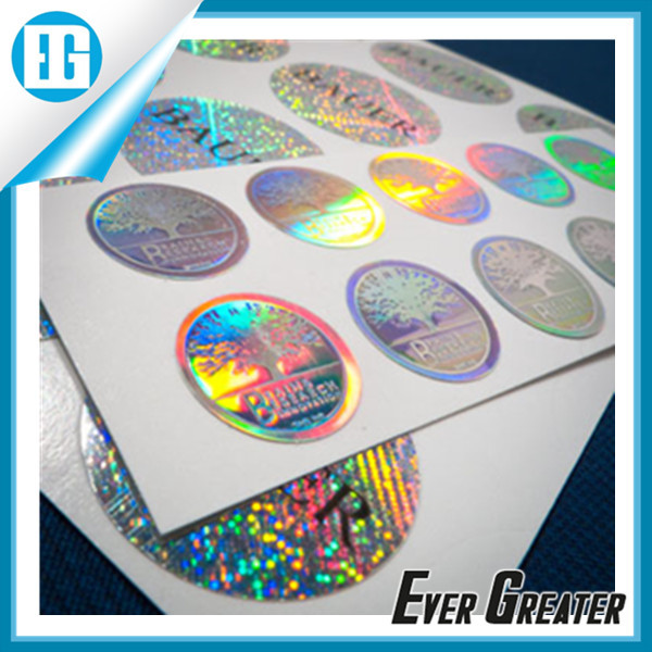 Custom hologram sticker,hologram label,sticker label
