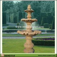 3 tier granite water fountain