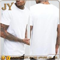 2017 Men's Clothing Summer White T-shirt Clothing Factories in China Men's Apparel Dongguan City JY Clothing