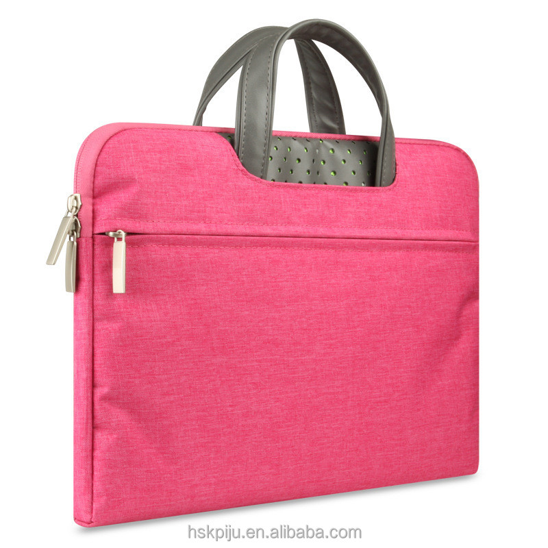 Free sample ladies business laptop case 13 inch with shoulder strap