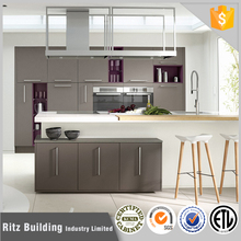 Customized modern kitchen cabinet with kitchen benchtop