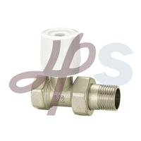 brass radiator valve plated nickel