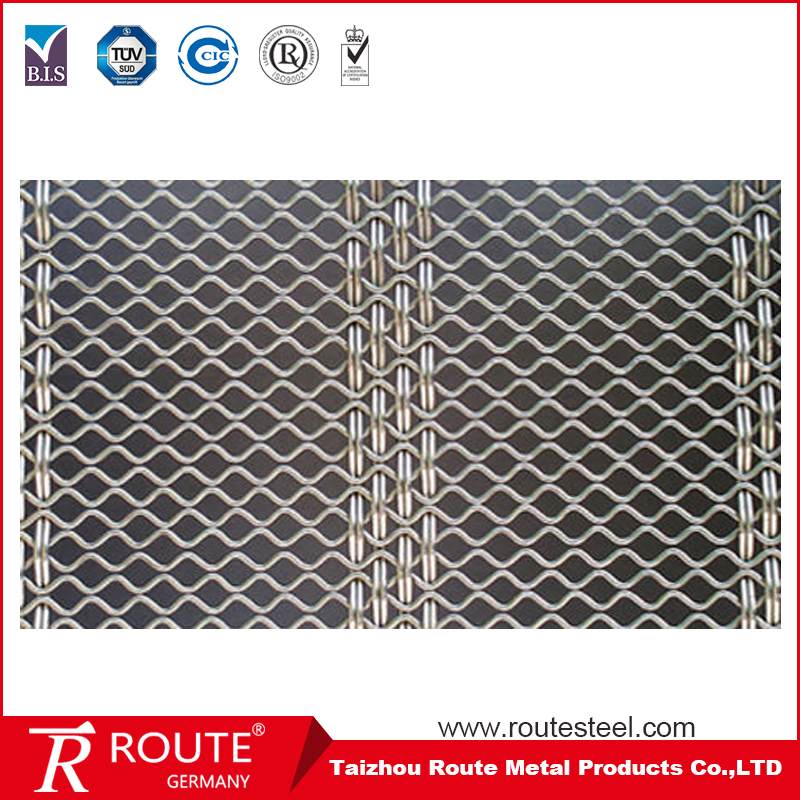 STAINLESS STEEL WOVEN WIRE GRILL MESH SHEET