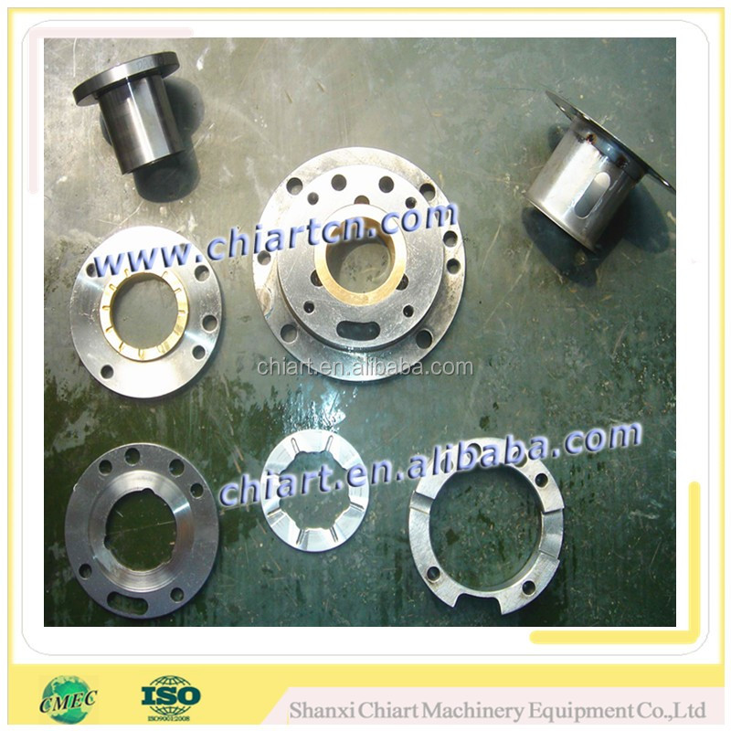superalloy precision machined turbocharger bearing shaft