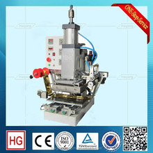 Semi automatic hot stamping foil for textile/hot foil stamping machine/pneumatic press machine