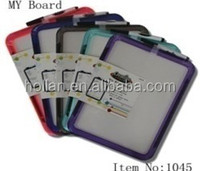 Colorful Plastic Frame Whiteboard With Marker Pen