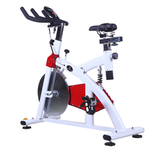Gym Aerobic Direct belt Driven Stationary Exercise Spinning Home Cycling Bike Weight lose machine With Adjustable Resistance