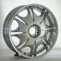 Hot-sell hyber silver car alloy rims 18/ 20/ 22/ 24 inch export to UK