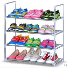 PN 4 tiers Shelf Closet Home Pair Spacious Shoe Rack Organizer Storage Bench factory metal shoe rack