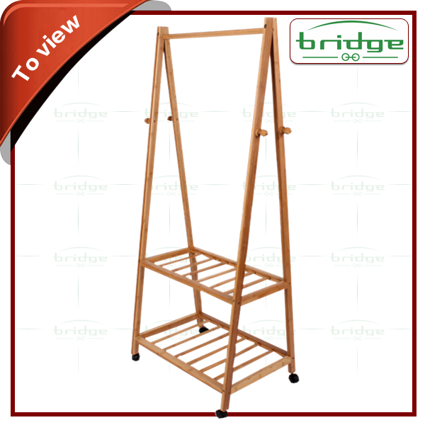 Bamboo Clothes Drying Racks,Folding WOODEN TOWEL RACK STAND