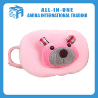High quality children's cartoon bear pure color design dustproof warm mask