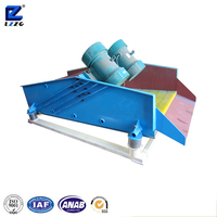 Energy saving dewater and desliming linear vibrating screen machine for sale