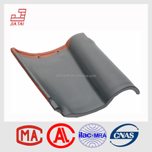 Red color glossy waterproof roof tile Spanish roof tiles