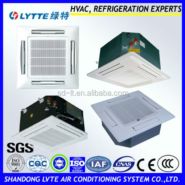 High Efficiency 4-way Cassette Type Fan Coil Unit for Central Air Conditioning System