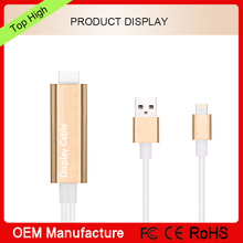 For iPhone 8pin to Hd Mi Cable , Stouch 2M Light ing MHL To HD MI Cable 1080P HDTV Adapter For iPhone 5 5S 6 6s plus iPad