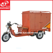 2015 Hot Sales Three Wheel Electric Tricycle Closed Cabin Express Tricycle Motorcycle