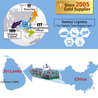 Cheap Sea Freight Shipping Service From