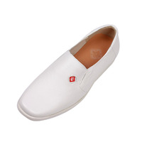 cheap wholesale genuine leather men dress white shoes bridal wedding shoes china