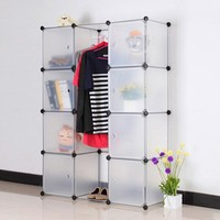 Plastic Material and Cabinet Type Children Plastic Toy Storage Shelf(FH-AL0040-8)