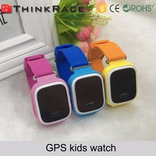 High-end Design SOS Personal GPS Tracker GPS Wrist Watch Phone From ThinkRace
