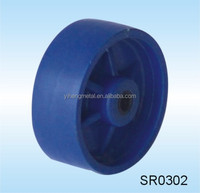 Small Size Solid Rubber Caster Wheels 3