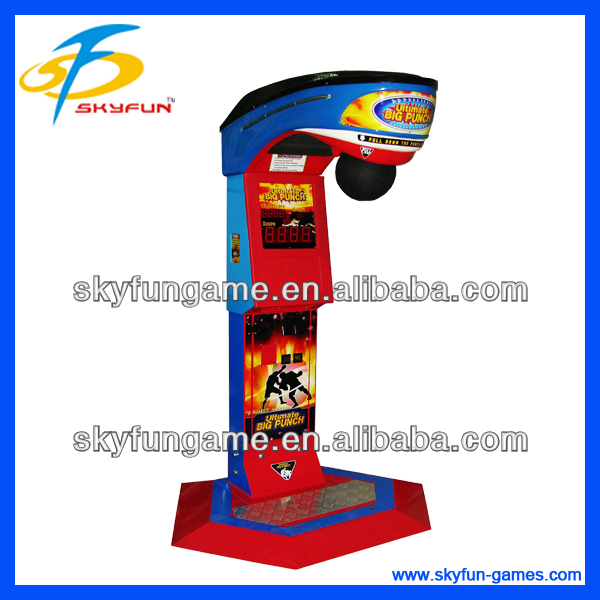Boxing vending machine magic box video game