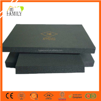Heat Insulation Materials Low Conductivity Factor Good Fire blocking Nitrile Foam Rubber Insulation Board