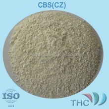 rubber accelerator CBS (CZ) Soluble in benzene, methylbenzene, Chloroform, carbon disulfide methylene chloride