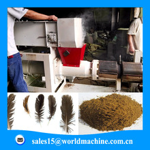 Professional manufacturer of chicken birds feather processing machinery