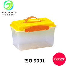 China Factory Custom Made Multi-functional Plastic Storage Container With Handle
