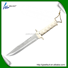 yangjiang outdoor knife with leather sheath