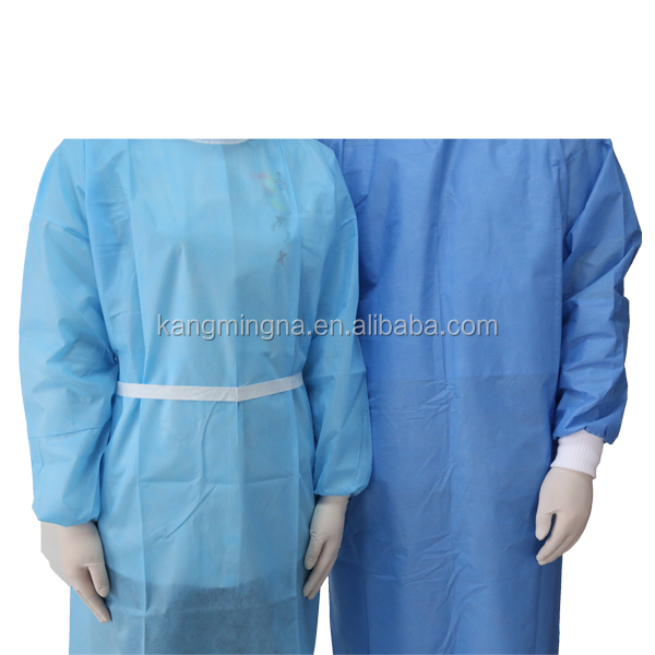 disposable knit cuff surgical gown