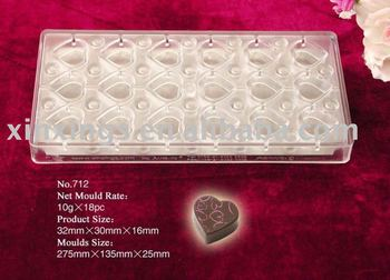 PC chocolate mould C712